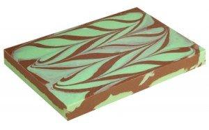 Mint Chocolate Swirl Fudge
